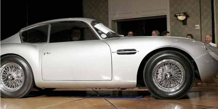 Aston Martin DB4 et DB5, 1958 : La plus belle partenaire de 007