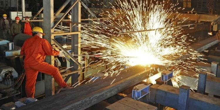 La production d'électricité et d'acier recule en Chine