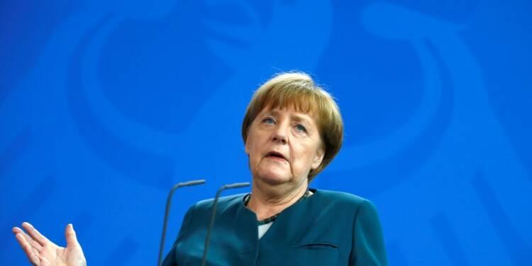 En plein débat sur la BCE, Angela Merkel en appelle aux Etats
