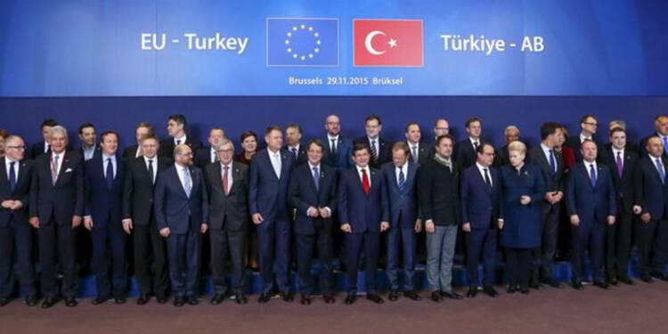 Sommet UE-Turquie pour endiguer la crise migratoire