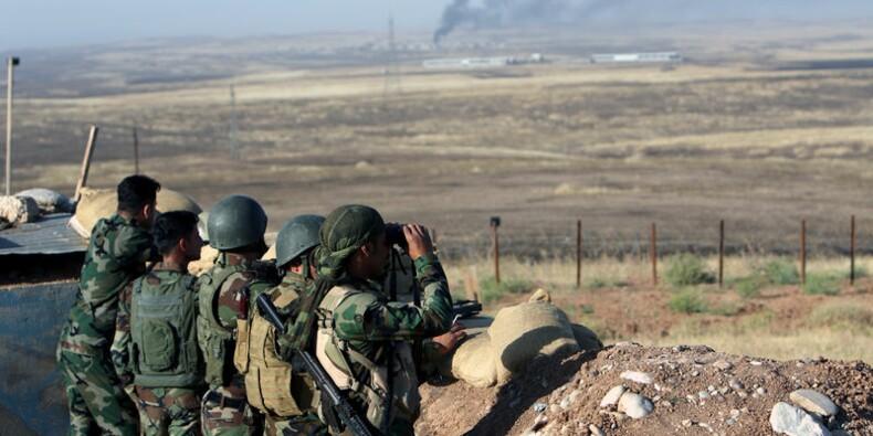 Offensive kurde à l'est de Mossoul, la coalition près du front