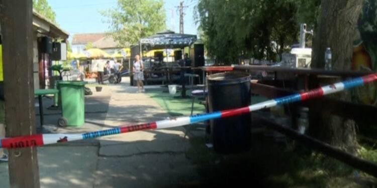 Cinq morts dans une fusillade dans un café en Serbie