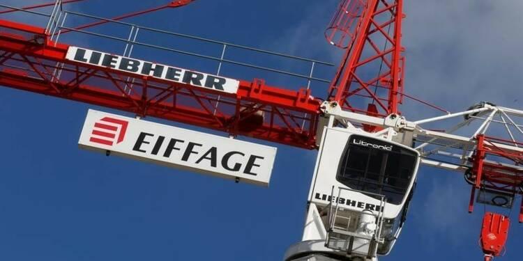 Infrastructures et énergie pèsent sur le 1er trimestre d'Eiffage