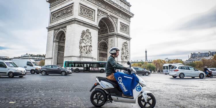 apr s le velib et autolib le scooter en libre service arrive paris. Black Bedroom Furniture Sets. Home Design Ideas