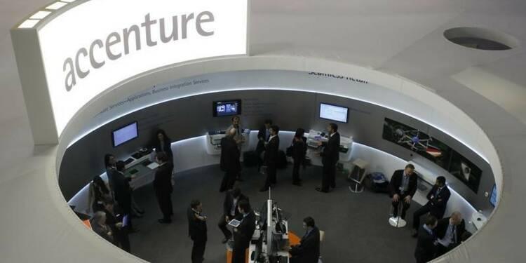 Les résultats d'Accenture en hausse au 2e trimestre