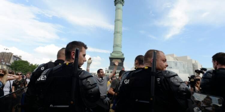 Loi travail: une manifestation parisienne courte et sans débordements