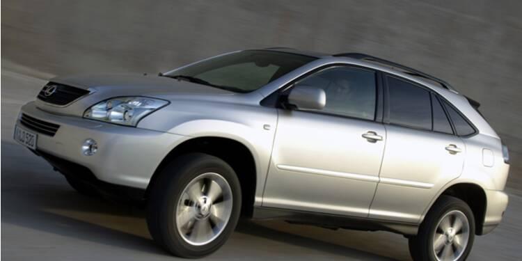 Lexus 400 XPH, 2004 : Le 4x4 écolo qui fait craquer les Californiens