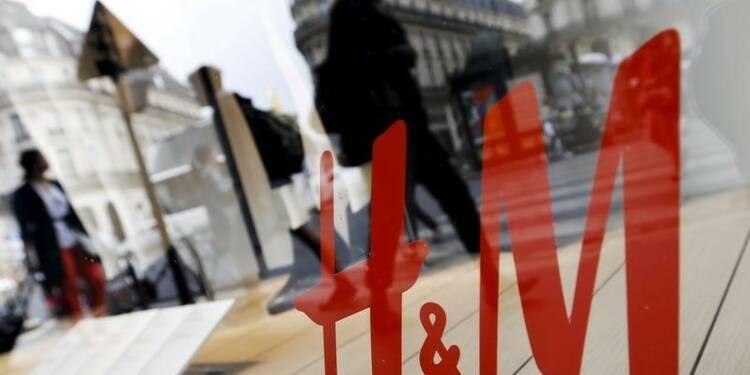 Les ventes de H&M en hausse de 5% en avril, moins que prévu
