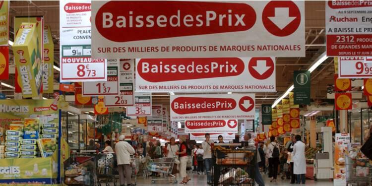 La menace de déflation pointe à nouveau le bout de son nez en France