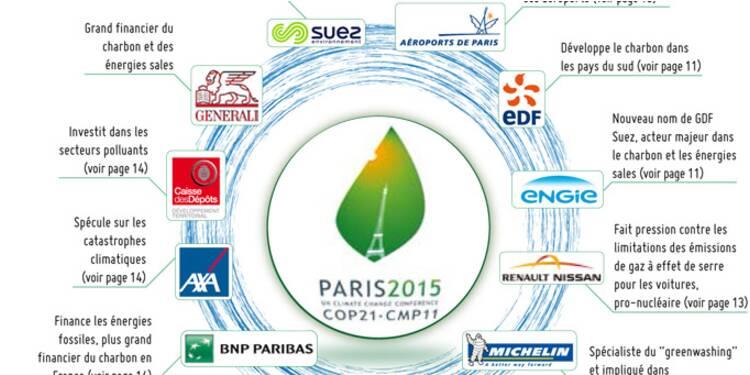 COP21 : les ONG pointent du doigt la position délicate des sponsors