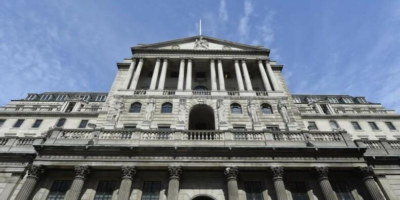 La Banque d'Angleterre laisse son taux directeur inchangé à 0,5%