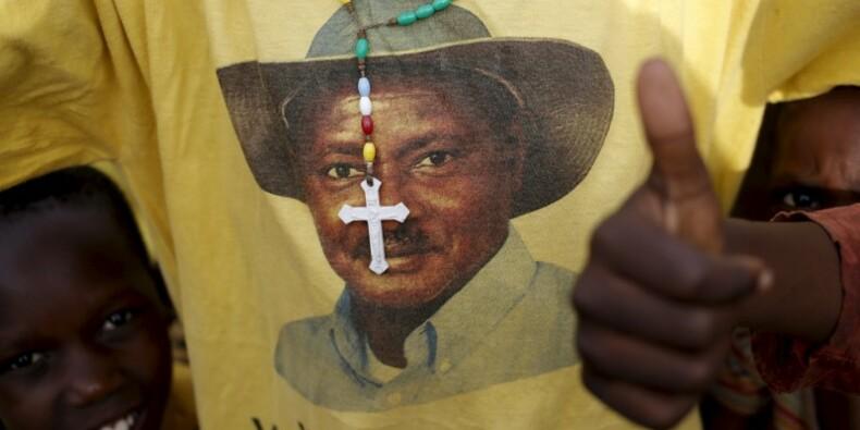 Yoweri Museveni vainqueur de la présidentielle en Ouganda