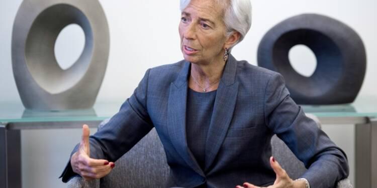Brexit : une récession mondiale peu probable, prédit Christine Lagarde