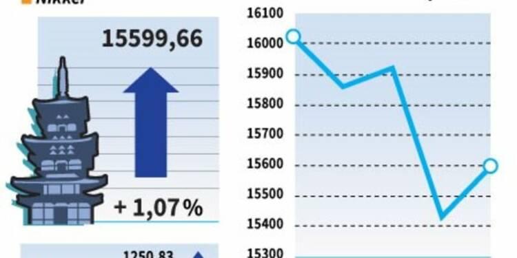 La Bourse de Tokyo finit en hausse, le yen marque le pas
