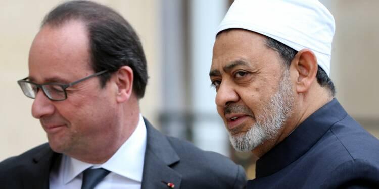 Hollande parle lutte contre l'extrémisme avec l'imam d'Al Azhar
