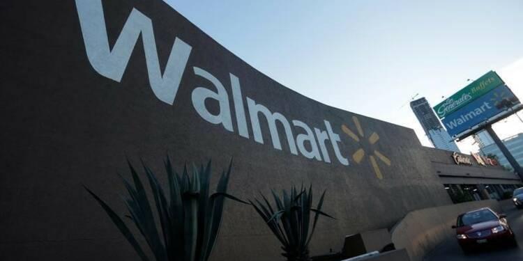 Wal-Mart relève ses prévisions, l'action monte