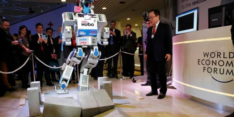A Davos, les patrons se préparent à l'ère de la robotique