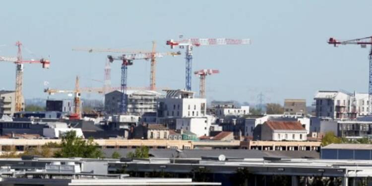 Mises en chantier de logements quasi stables au 1er trimestre