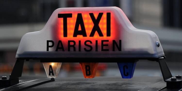 Pagaille sur les routes de France avec la grève des taxis