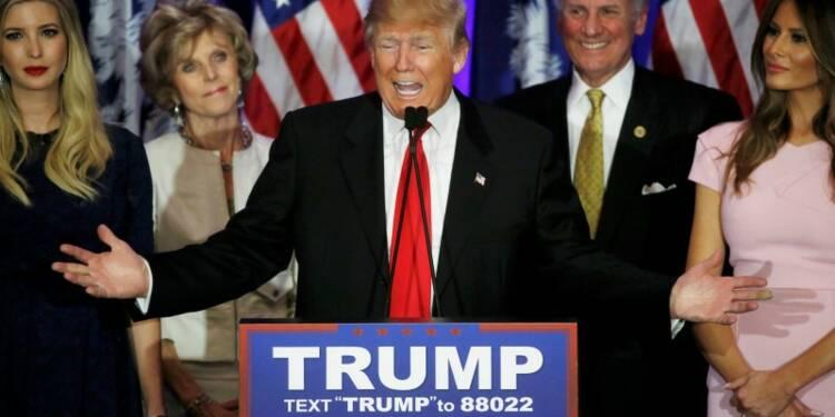 Trump conforte son avance, Clinton contient Sanders
