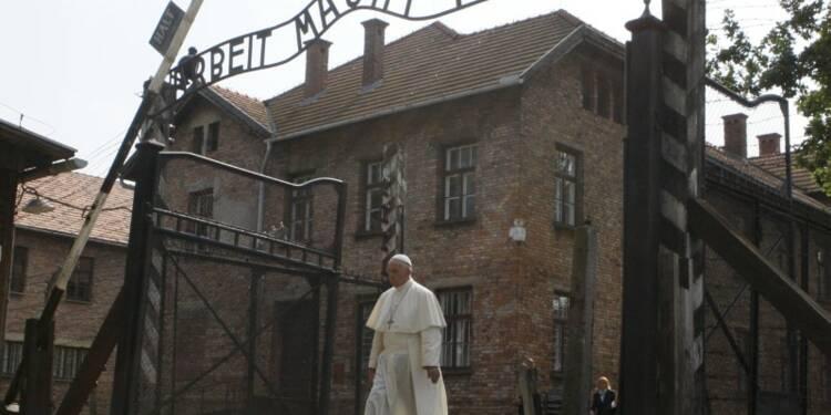 A Auschwitz, le pape demande à Dieu de pardonner tant de cruauté