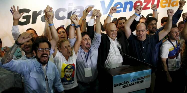 L'opposition vénézuélienne remporte les législatives