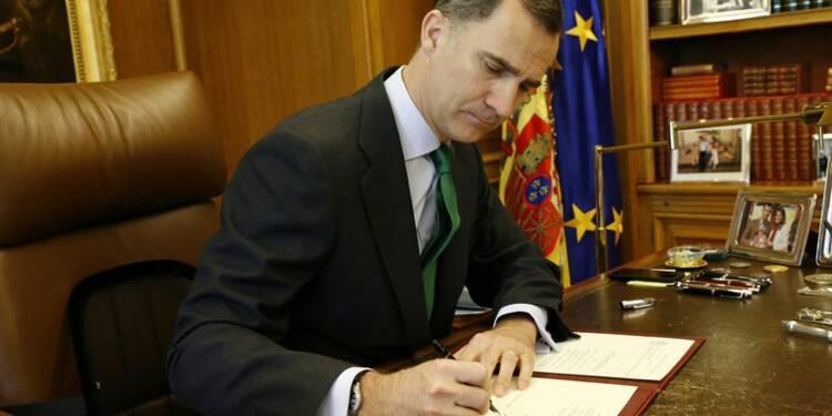 Le roi Felipe convoque des élections pour le 26 juin en Espagne