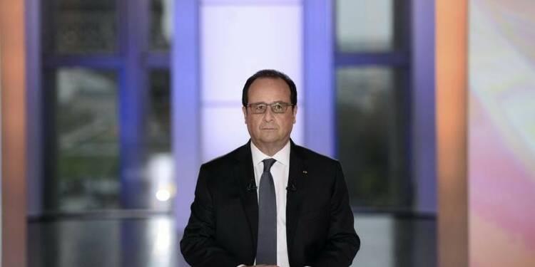 Le diagnostic optimiste de Hollande boudé par les Français