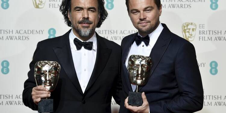"""The Revenant"" grand vainqueur des Bafta Awards à Londres"