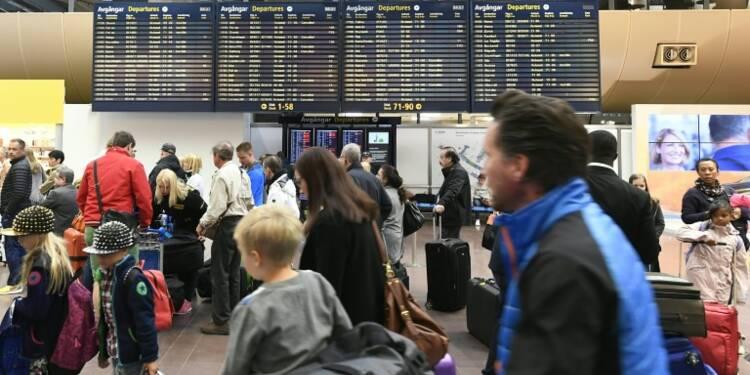 Grève des pilotes suédois de SAS: plus de 20.000 passagers bloqués