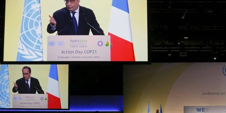 Hollande appelle à dépasser les intérêts nationaux à la COP21