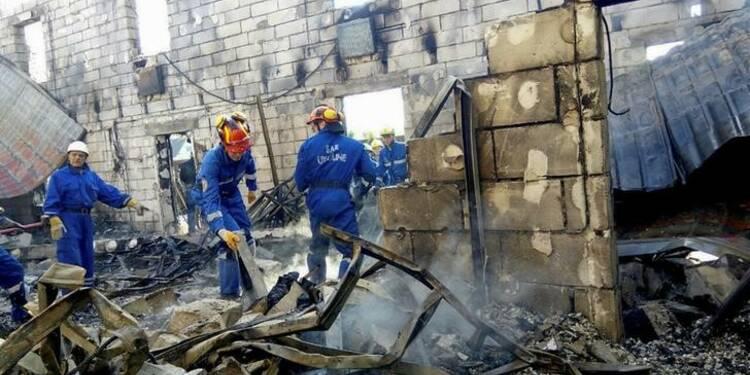 Incendie dans une maison de retraite en Ukraine, 17 morts