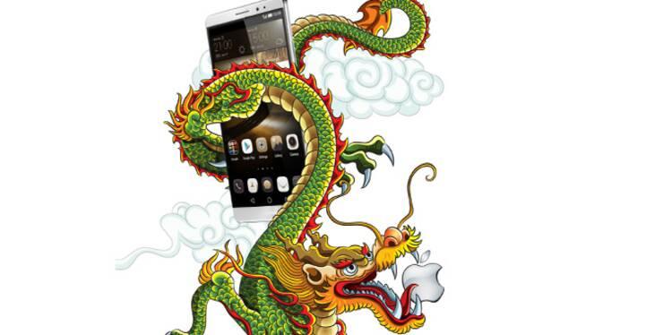 Objectif de Huawei : battre Apple et Samsung !