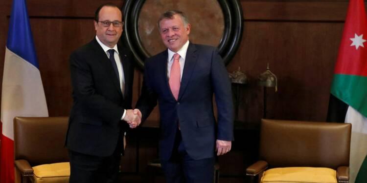Hollande annonce près d'un milliard d'euros d'aide à la Jordanie