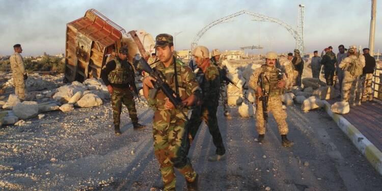 L'armée irakienne progresse au milieu des bombes dans Ramadi