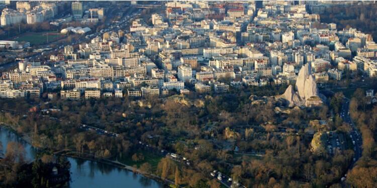 En Ile-de-France, les prix de l'immobilier sont à la baisse