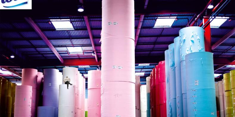 Lotus : le rouleau compresseur du papier toilette