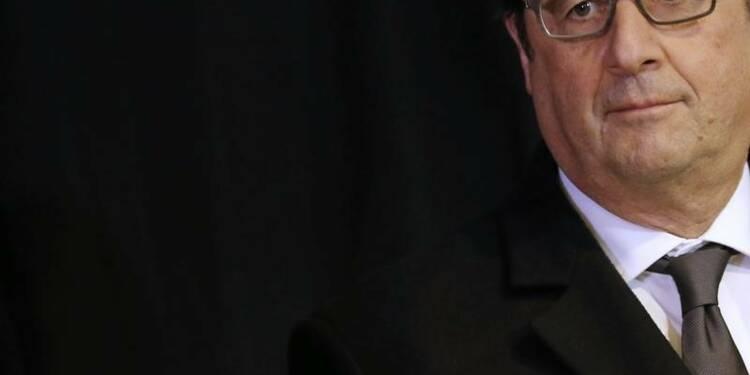 La cote de confiance de François Hollande rechute