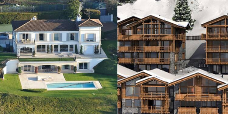 L'incroyable patrimoine immobilier suisse du propriétaire de SFR, Patrick Drahi