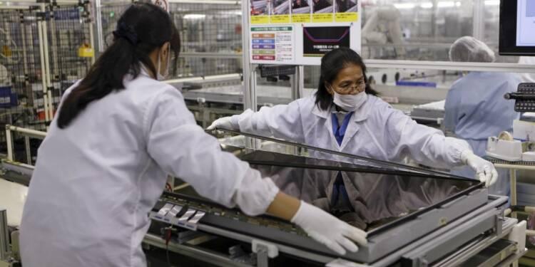 Japon: première hausse de la production manufacturière en 6 mois
