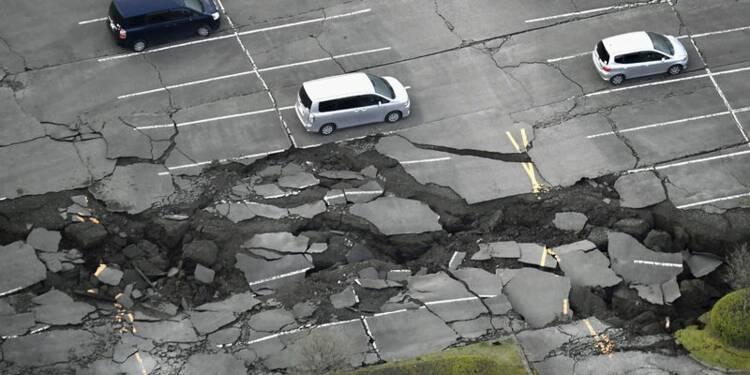 Un nouveau séisme au Japon fait au moins 32 morts