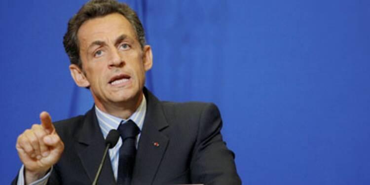 """Bonus des banques : Sarkozy veut sanctionner """"les comportements irresponsables"""""""