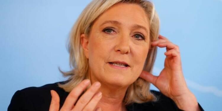 Marine Le Pen demande un référendum sur l'UE en France