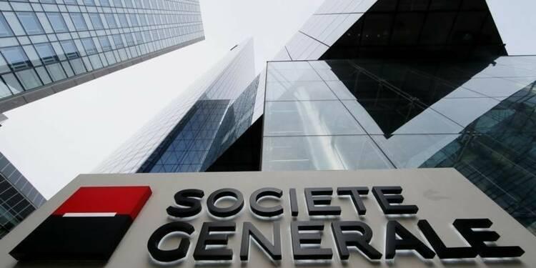 SocGen en hausse avec une plus-value et l'international
