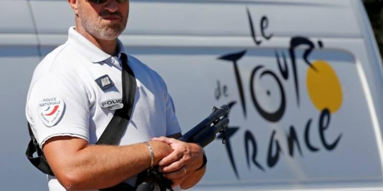 Sécurité renforcée dimanche à Paris pour l'arrivée du Tour
