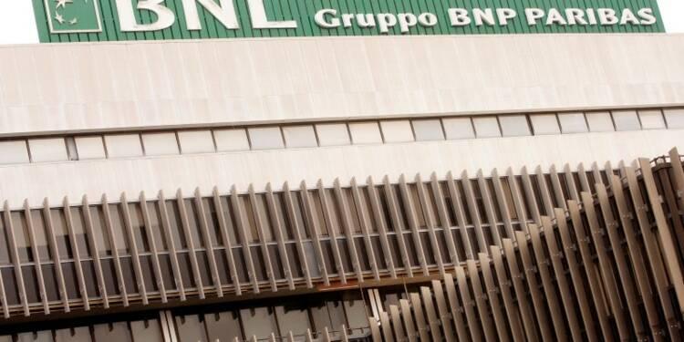 Dépréciation de 0,9 milliard d'euros d'actifs de BNP liée à BNL