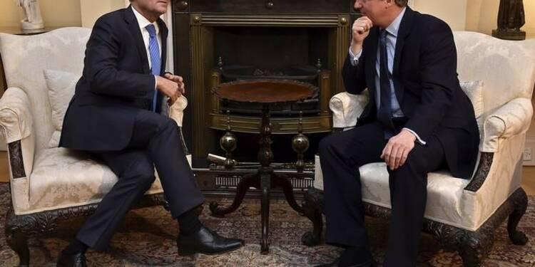 """""""Pas encore d'accord"""" sur les relations entre Londres et l'UE"""