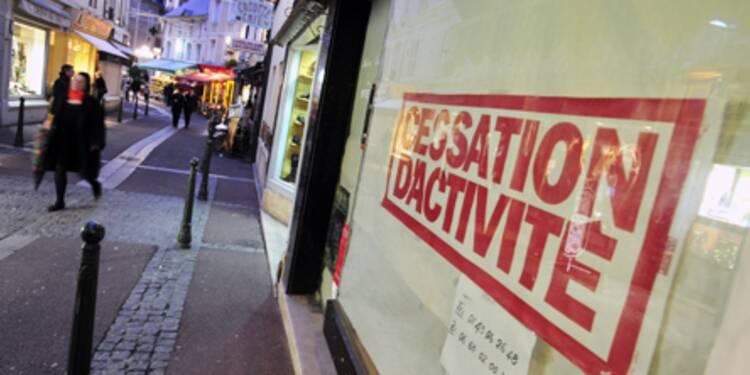 Nouveau bond des défaillances d'entreprises en France