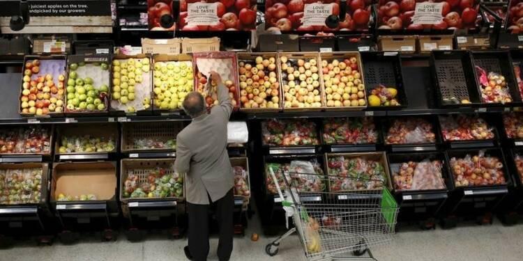 Ralentissement surprise de l'inflation en Grande-Bretagne