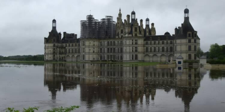 Tourisme: les châteaux de la Loire affectés par les inondations